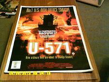 (U-571) A2+ MOVIE POSTER