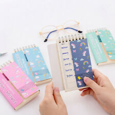 Unicorn Foreign Language Learning Coil Book Vocabulary Portable Pocket Notebook