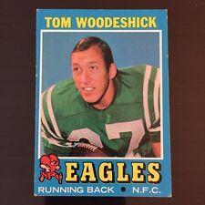 1971 Topps TOM WOODESHICK #40  Philadelphia Eagles  West Virginia Mountaineers