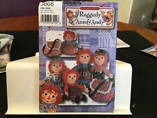 Simplicity Raggedy Ann & Andy sewing pattern 5868