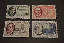 FRANCE 1957  série neuve ** n° 1095/1098 hommes célèbres