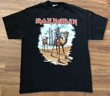 Iron Maiden Dubai Tour Shirt 2007 Large