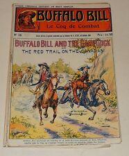 Fascicule BUFFALO BILL N°56 : Le COQ de COMBAT - Edtion Originale Colonel CODY
