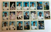 1990 Bowman NEW YORK YANKEES Complete Team Set 20 Cards MATTINGLY WILLIAMS