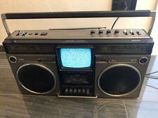 RADIO TV GHETTOBLASTER BOOMBOX PHILIPS MW-520  Radio 2 BAND RARA