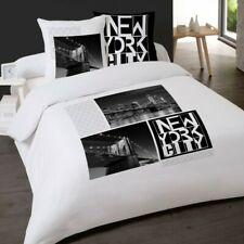 Housse de couette NEW YORK New York by Night 240 x 220 +2 Taies  Coton