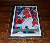MIKE TROUT SP #TBT PRINT RUN ONLY /1155!! 2020 TOPPS THROWBACK THURSDAY #113