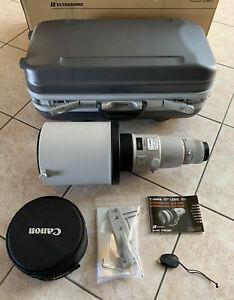 Canon EF 600mm f4L IS II USM Lens