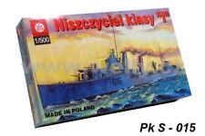 ZTS PLASTYK S015 1/500 Destroyer Class I