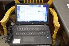 """HP 15-f233wm 15.6"""" Laptop Intel 1.6GHZ 4GB RAM 500GB HDD Win 10 WEBCAM HDMI"""