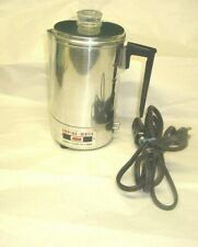 Electric Empire Metal Ware Coffee Quickie 3 Cup Coffee Maker