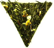 Strawberry Orange Sencha Whole Loose Leaf Green Healthy Tea Mountain Everlasting