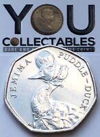 50p coins Jemima Puddle-Duck 2020 Peter Rabbit Tiggy-Winkle BEATRIX POTTER SET