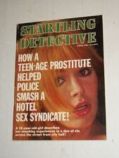 Vintage STARTLING DETECTIVE Magazine March 1968 Beautiful babe (1)