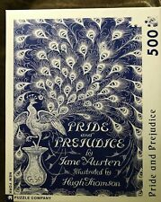 Pride & Prejudice ~ 500 Piece Peacock Jigsaw Puzzle ~ Used ~ Complete