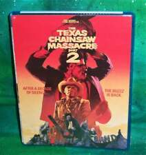 New Oop Tobe Hooper Texas Chainsaw Massacre Part 2 Le Collectible Card Blu Ray