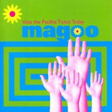 Magoo-Vote the Pacifist Ticket Today CD Import  New