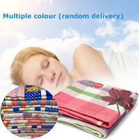 Electric Heated Blanket Warm Soft Fast Heat Fleece Rug Digital Timer  ❤