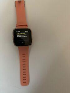 Fitbit Versa 2 Smartwatch - Petal / Copper Rose