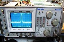 Working Tektronix 492 Spectrum Analyzer 50KHz-21GHz With Option 1,2 And 3