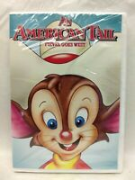 An American Tail Fievel Goes West DVD NEW