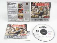 Resident Evil Platinum PlayStation 1 PS1 Complete PAL