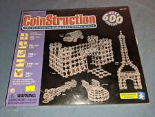 CoinStruction 600 pieces Educational Insignts toy Coin Construction kit New