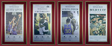 Cleveland Cavaliers NBA Finals Championship Original Newspapers Framed