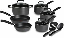 T-fal Hard Anodized Nonstick Pans Thermo-Spot Heat Indicator Cookware Set