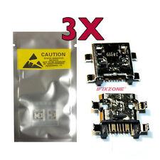 3 X New Micro USB Charging Port For Samsung Galaxy S4 mini E370K L520 i435 USA