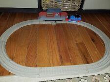 Thomas Rides the Rails Trackmaster Motorized Railway Starter Kit Toy USED