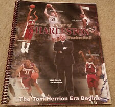 2002-03 College of Charleston Men's Basketball Media Guide Tom Herrion