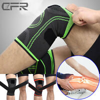 Knee Sleeve Compression Brace Patella Support Stabilizer Sport Gym Joint Pain LK