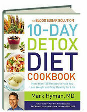 Blood Sugar Solution 10 Day Detox Diet Cookbook (hc) New and *remainder mark