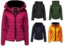 Polyester Machine Washable Quilted Coats & Jackets for Women