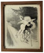 Bicycle Dreams Vintage Poster
