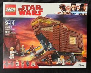 LEGO 75220 Star Wars Sandcrawler Retired Brand New Sealed Box Free Shipping