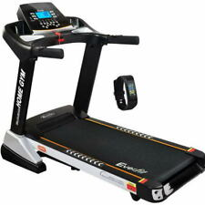 Everfit Home Gym 240V Electric Treadmill - Black/Silver (9350062194362)
