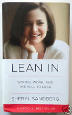 LEAN IN: Women, Work and the Will to Lead by Sheryl Sandberg, Facebook COO HC/DJ
