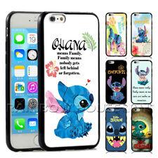 Stitch Phone Case Lilo Ohana Hawaii Family For iPhone iPod Samsung Galaxy Case