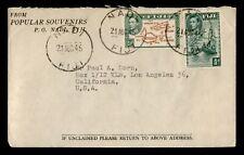 DR WHO 1945 FIJI NADI TO USA C197648
