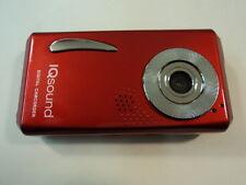 Iqsound Digital Camcorder Camera 3 Mega Pixel Red Lcd 1.5-in Color Iq-8300