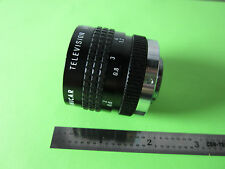 OPTICAL COSMICAR 25 MM LENS TV JAPAN nick on edge OPTICS BIN#B5-43
