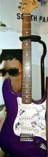 SIGNED GUITAR by AMERICAN HI-FI BAND members Fender Squier Start Metallic Purple