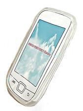 SILICONE Tpu Cover per Cellulare Case Trasparente per Samsung i5800 + Proteggi Schermo