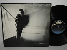Tom De Luca Down To The Wire 1986 LP Jamie Lane DeLuca 57 Chevy Dirty Fingers