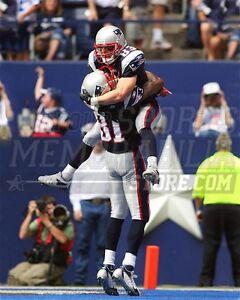 Wes Welker Randy Moss New England Patriots touchdown 8x10 11x14 16x20 photo 231