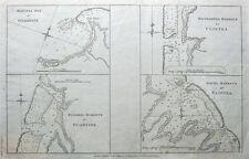 More details for tahiti, pacific,matavia bay,huahine,raiatia captain cook, hogg antique map c1780