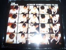 The Kooks Always Where I Need To Be Australian 3 Track CD Single - Like New