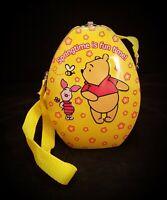 Winnie The Pooh & Piglet Tin Purse w Strap So Cute 》